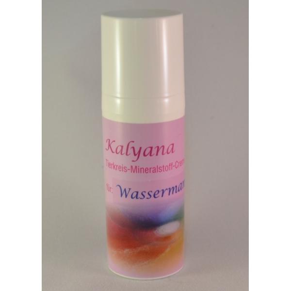 Kalyana-Tierkreiscreme Wassermann, 50ml