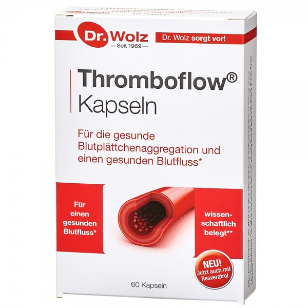 Thromboflow Dr. Wolz, 60 Kps.