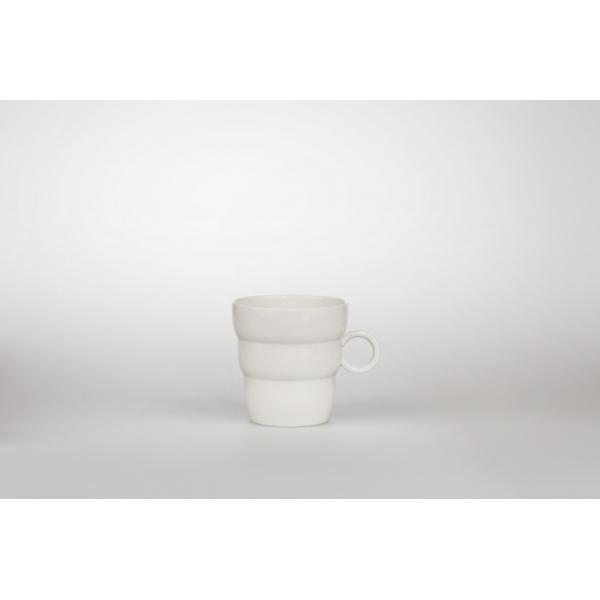 Tee- und Kaffeebecher Shinno 0.3 l, Lebensblume silbergrau