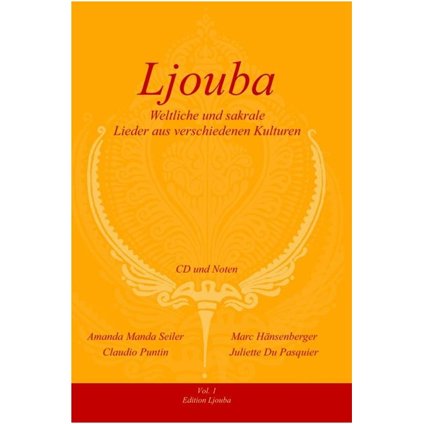 CD Ljouba Weltliche und Sakrale Lieder, Noten und Texte