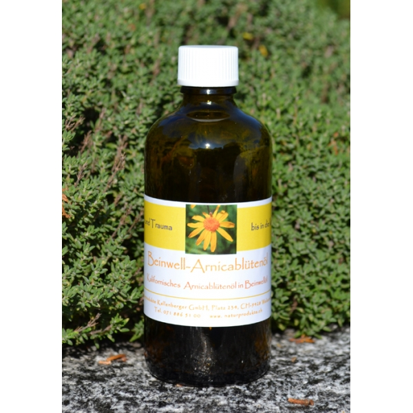 Beinwell-Arnika-Blütenessenzenöl, 100ml