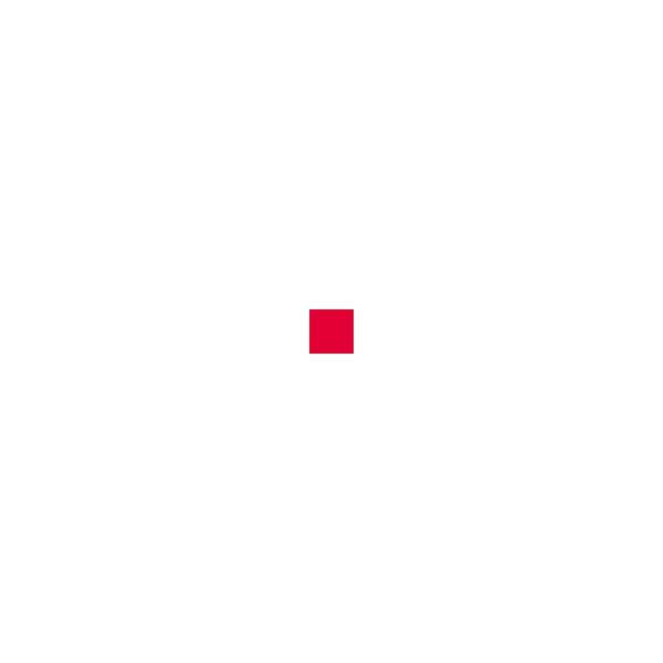 Elsa - Standard-Überzug, 50/9cm, Rot