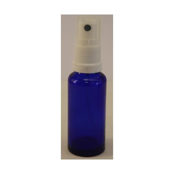 Sprayflasche blau mit Sprühkopf, 30 ml