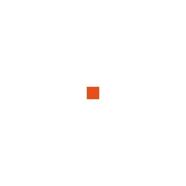 Elsa - De Luxe-Überzug, 70/9cm, Orange
